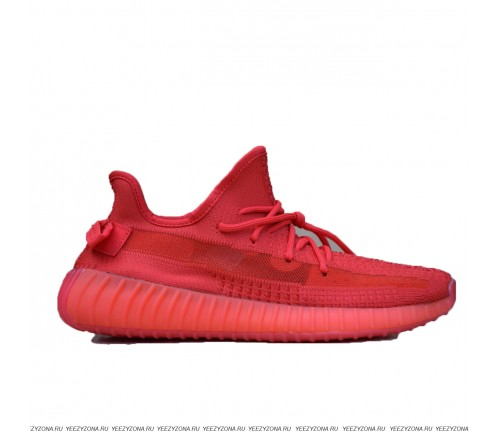 ADIDAS  YEEZY BOOST 350 (RED)
