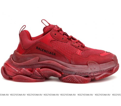 Balenciaga Wmns Triple S Trainer 'Red' (36-41)