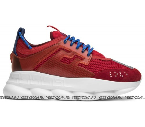 Versace Red Chain Reaction Trainers (36-45)