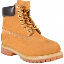 Ботинки Timberland Yellow с мехом