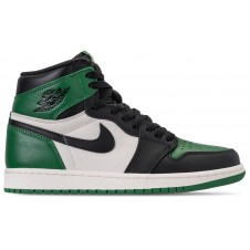 Nike Air Jordan 1 Mid Black White Green
