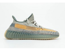 Adidas Yeezy Boost 350 V2 Sky Blue / Yellow Серые с голубым