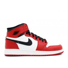 Nike Air Jordan 1 Red White Красные Белые