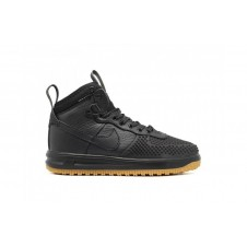 NIKE LUNAR FORCE 1 DUCKBOOT зимние черные
